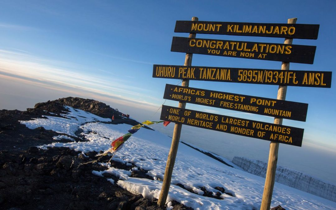 Butler & Young sponsors Reiss of A&A Electrical as he climbs Kilimanjaro!